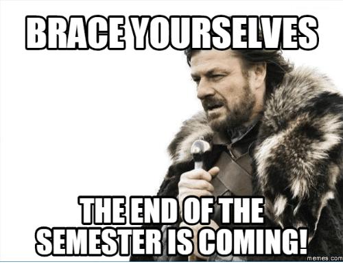 End Of Semester Meme Image Photo Joke 05