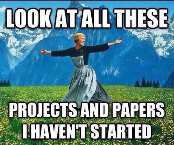End Of Semester Meme Image Photo Joke 06