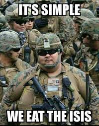 Fat Army Meme Funny Image Photo Joke 02