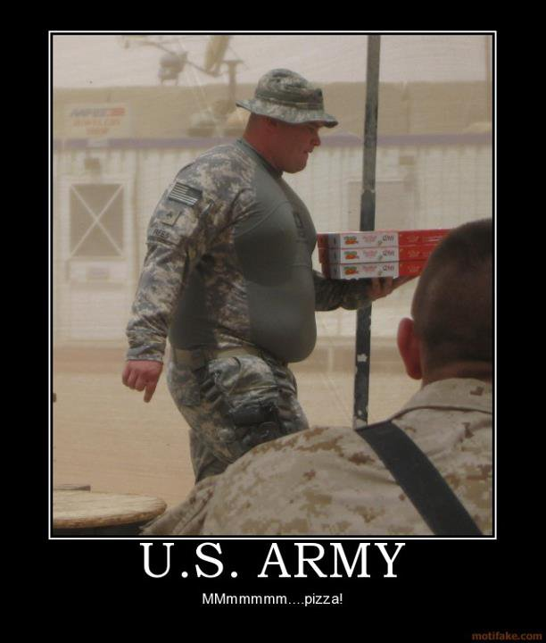 Fat Army Meme Funny Image Photo Joke 07