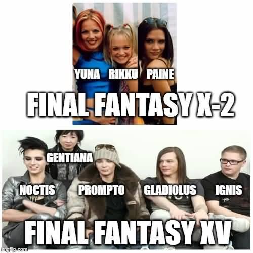 Final Fantasy Meme Image Joke 06