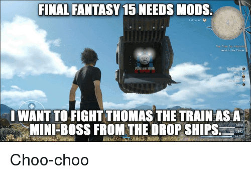 Final Fantasy Meme Image Joke 09