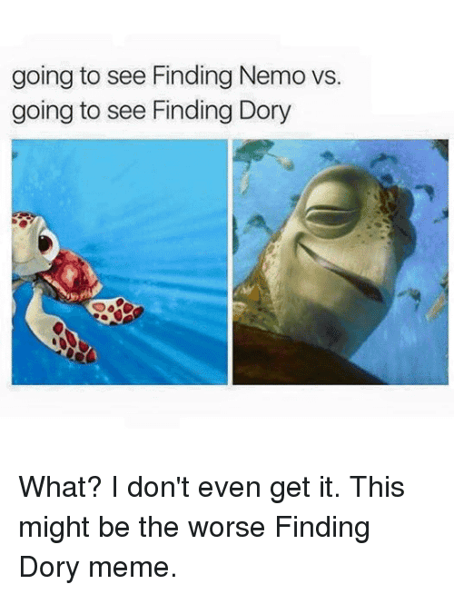 Finding Dory Meme Funny Image Photo Joke 07