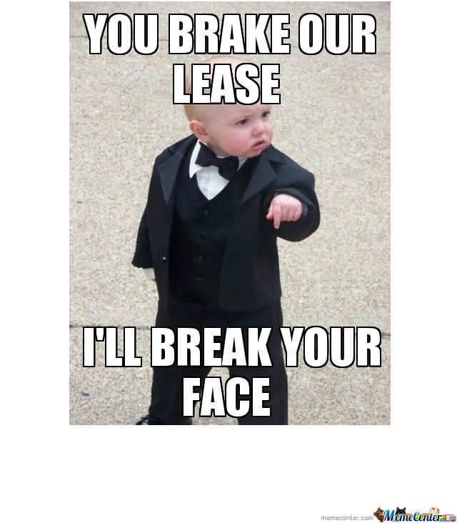 Godfather Baby Meme Funny Image Photo Joke 04