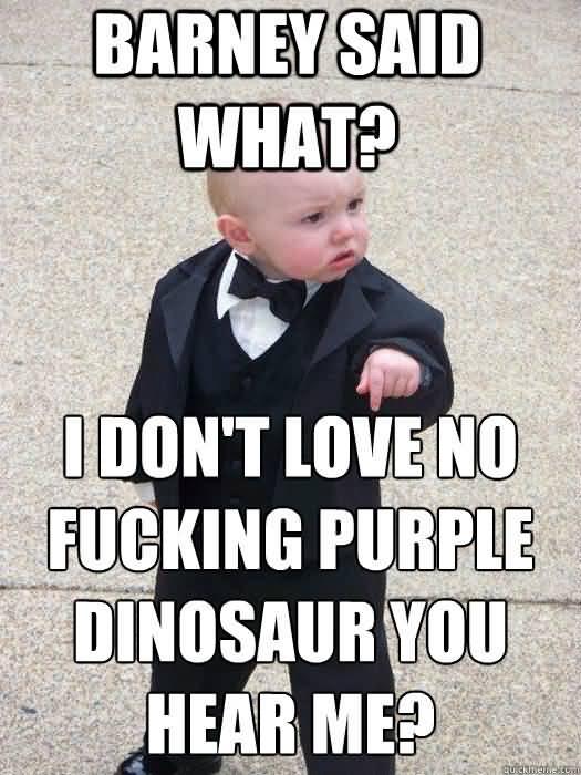 Godfather Baby Meme Funny Image Photo Joke 11
