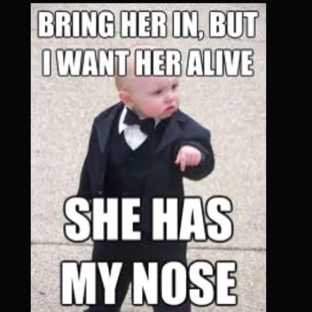 Godfather Baby Meme Funny Image Photo Joke 12