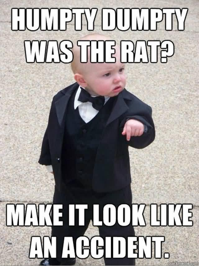 Godfather Baby Meme Funny Image Photo Joke 14