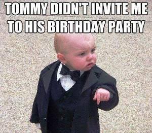 Godfather Baby Meme Funny Image Photo Joke 15