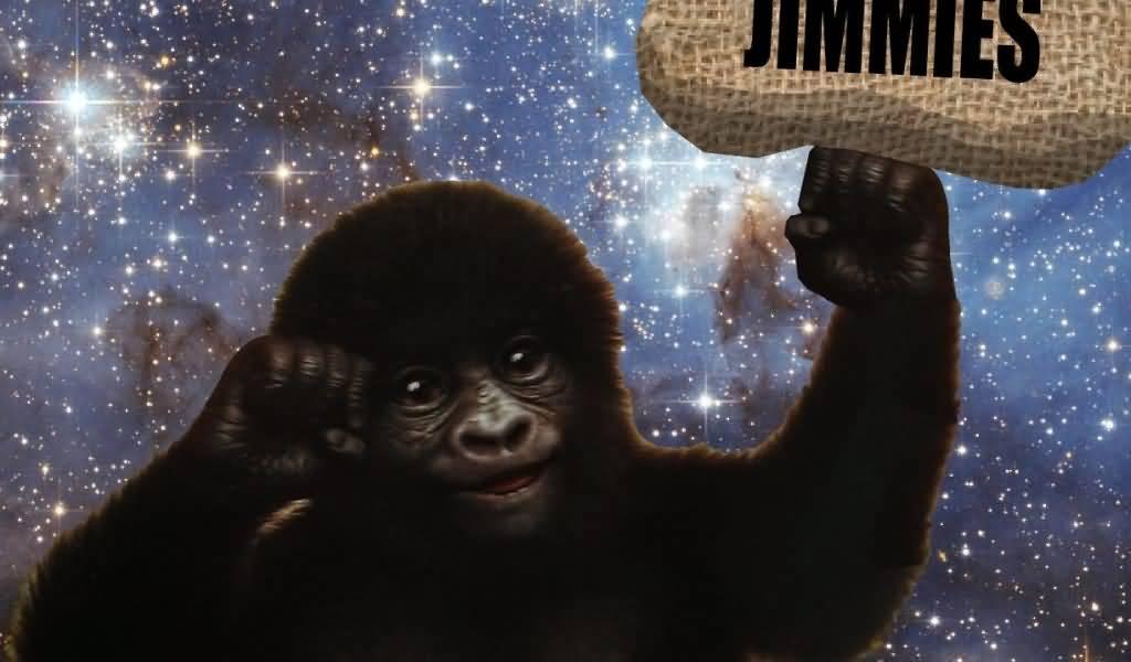Gorilla Munch Meme Funny Image Photo Joke 15