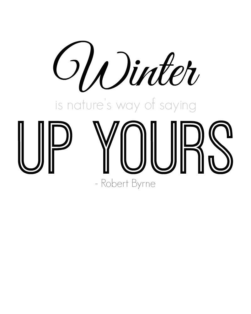 I Hate Winter Quotes Meme Image 14 | QuotesBae