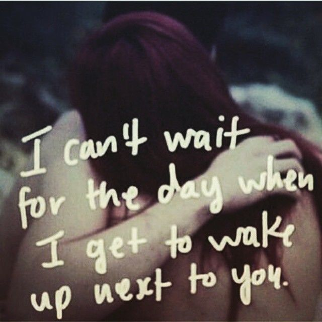 I Love Waking Up Next To You Quotes Meme Image 20 | QuotesBae