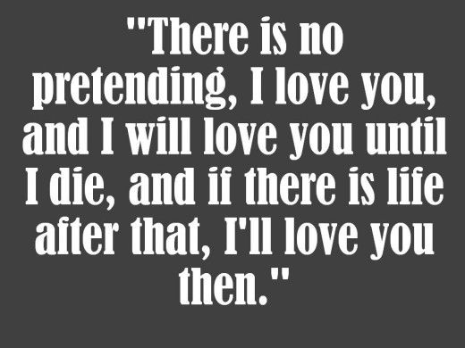 I Will Love You Forever Quotes Meme Image 08 | QuotesBae