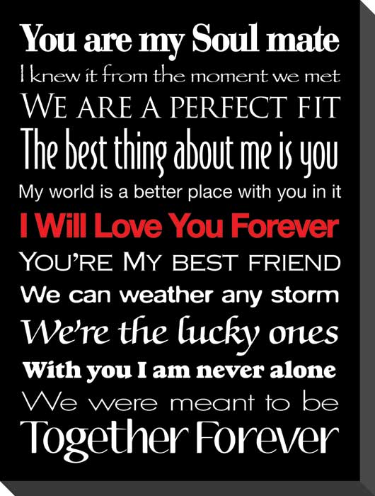 I Love You Forever Quotes & Sayings   I Love You Forever ...  I Will Love You Forever Quotes And Sayings