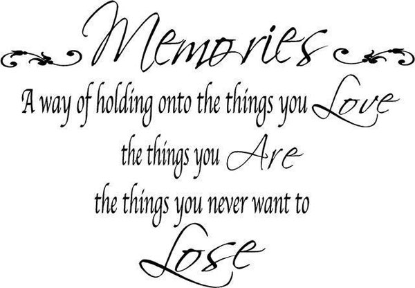 Quotes About Memories And Love 05