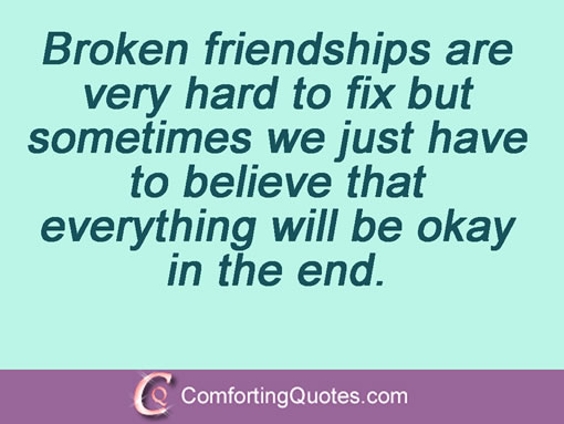 Quotes About Mending Friendships 01