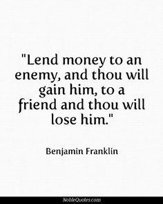Quotes About Money And Friendship 17