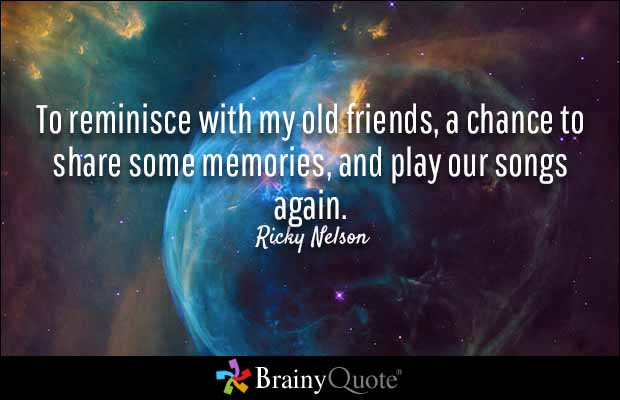 Quotes About Old Friendship Memories 01