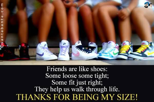 Quotes About Shoes And Friendship 07
