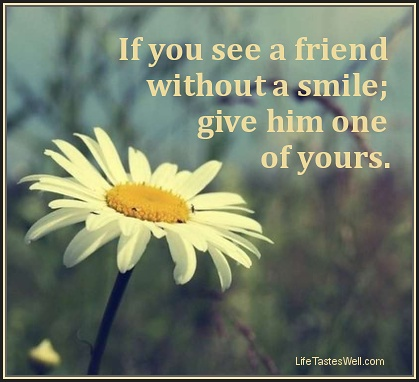 quotes about smile and friendship quotesbae