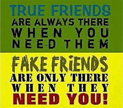 Quotes About True Friendship And Fake Friends 12
