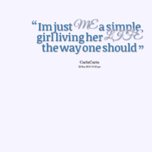 Quotes Of Simple Girl Meme Image 02 | QuotesBae