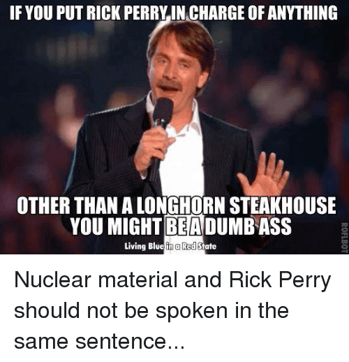 Rick Perry Meme Image Joke 02