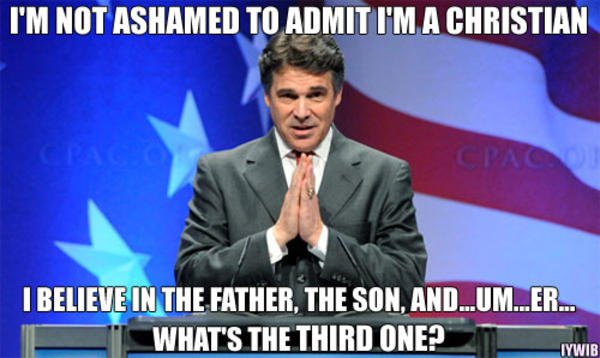 Rick Perry Meme Image Joke 13