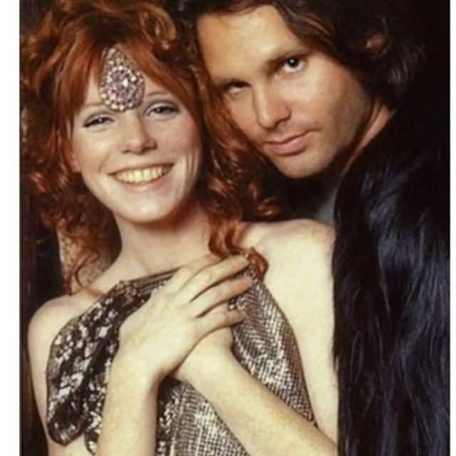 Some Rare Pictures Of Jim Morrison with Girlfriend Pamela Courson 10