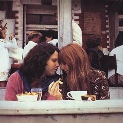 Some Rare Pictures Of Jim Morrison with Girlfriend Pamela Courson 11