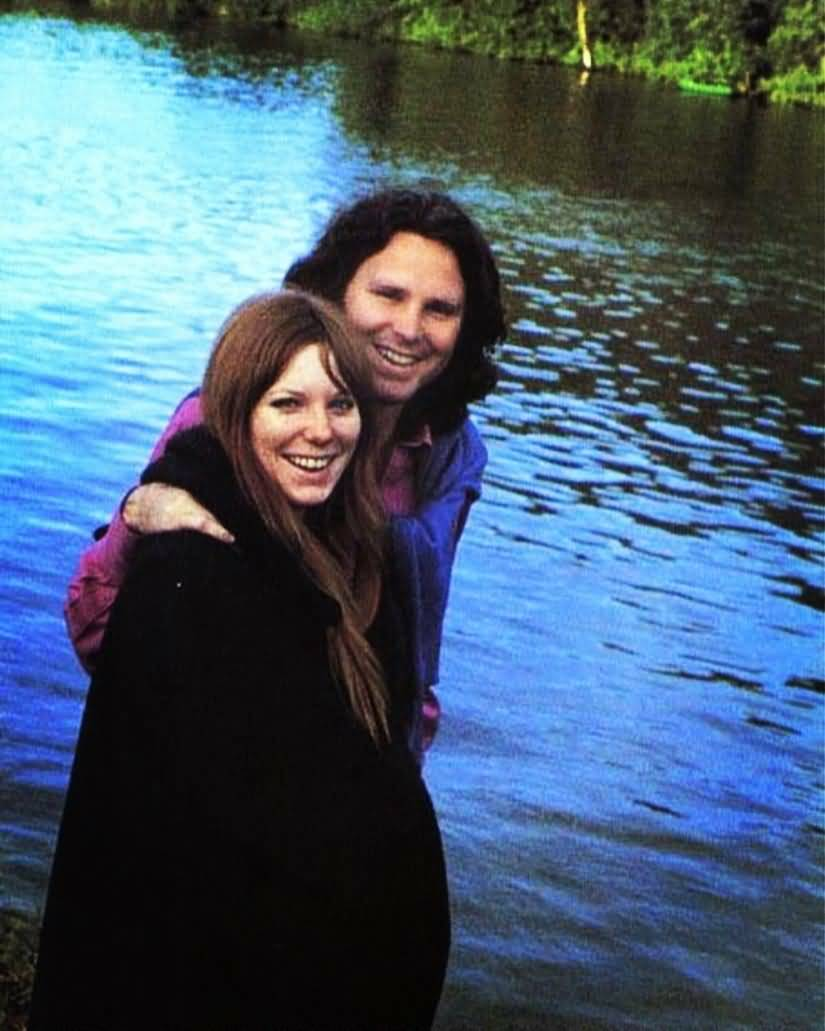 Some Rare Pictures Of Jim Morrison with Girlfriend Pamela Courson 17