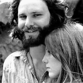 Some Rare Pictures Of Jim Morrison with Girlfriend Pamela Courson 36