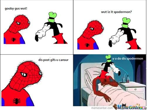 Spoderman Meme Funny Image Photo Joke 03