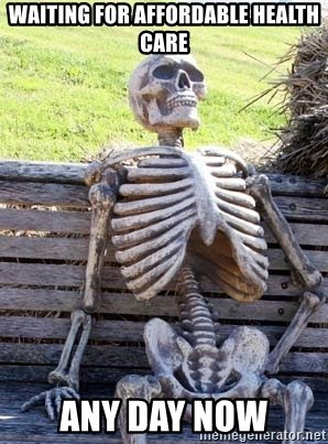 Waiting Skeleton Meme Funny Image Photo Joke 06