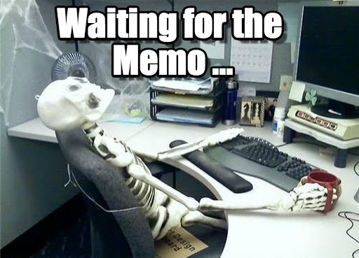 Waiting Skeleton Meme Funny Image Photo Joke 08