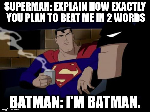 I'M Batman Meme Funny Image Photo Joke 06