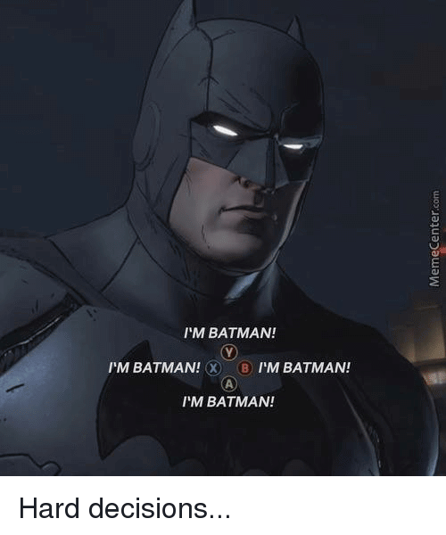 I'M Batman Meme Funny Image Photo Joke 07