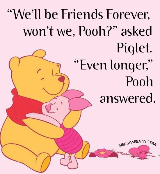 Quotes From Winnie The Pooh About Friendship 07