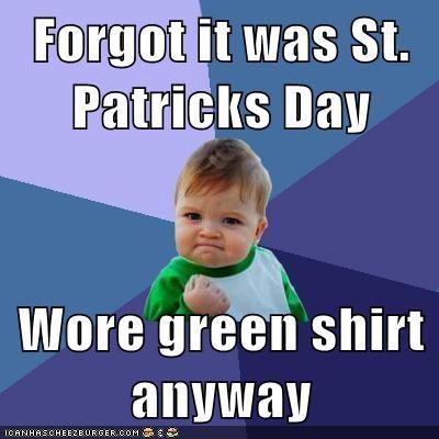St. Patrick's Day Meme 04