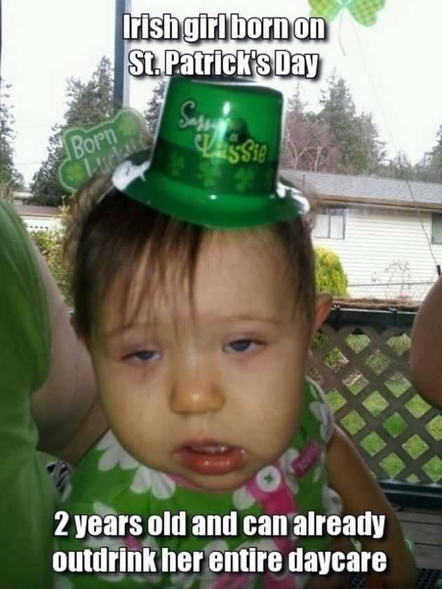 St. Patrick's Day Meme 17