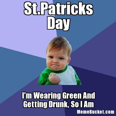 St. Patrick's Day Meme 25