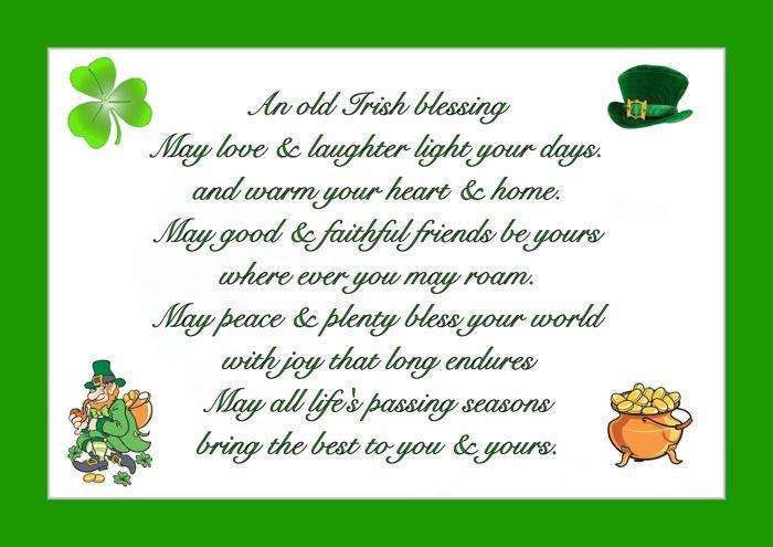 St. Patrick's Day Poems 02