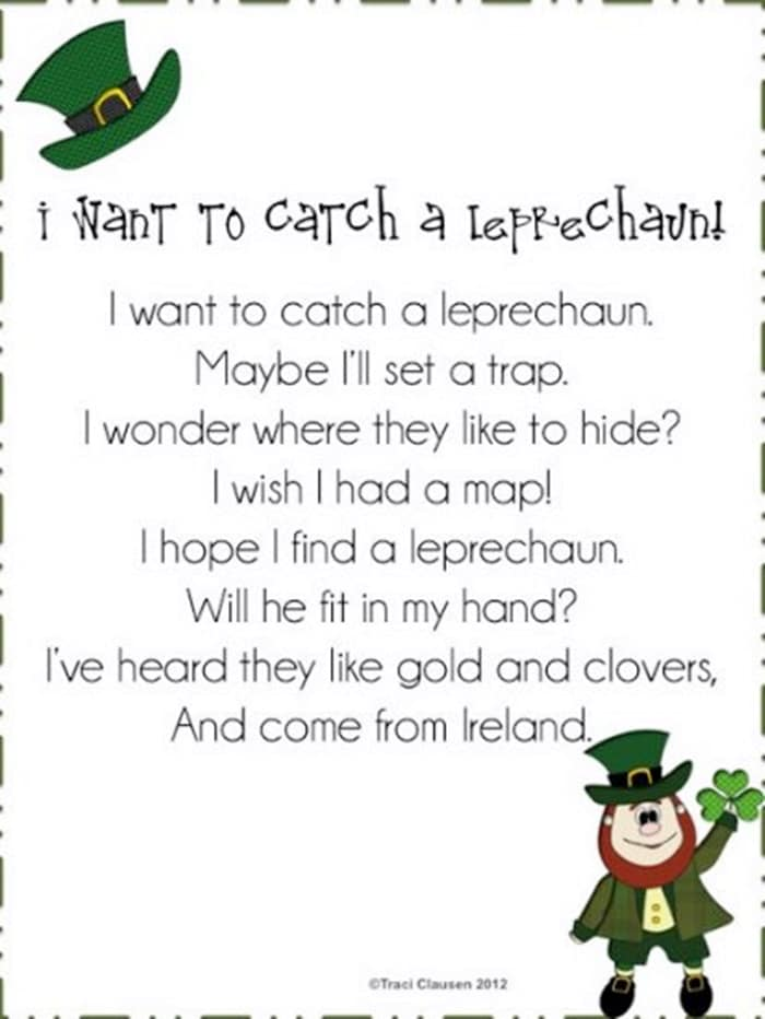 St. Patrick's Day Poems 03