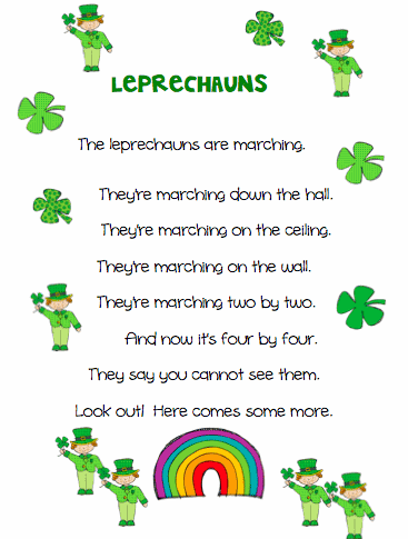 St. Patrick's Day Poems 04