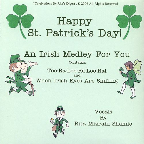 St. Patrick's Day Poems 08