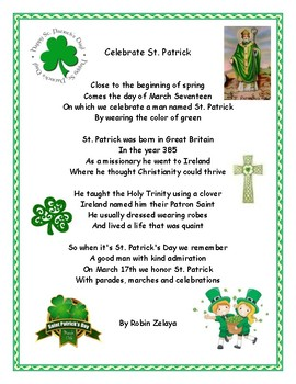 St. Patrick's Day Poems 09