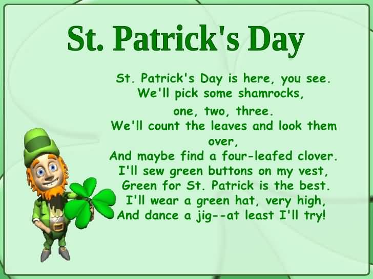 St. Patrick's Day Poems 11