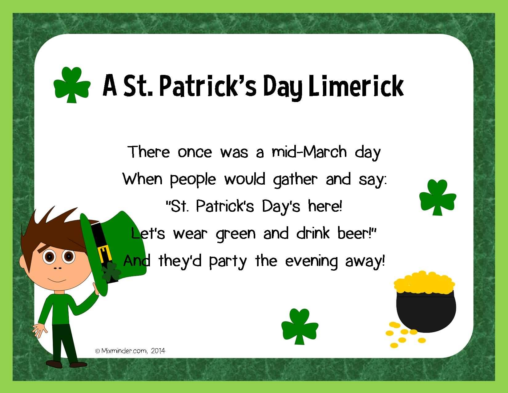 St. Patrick's Day Poems 12