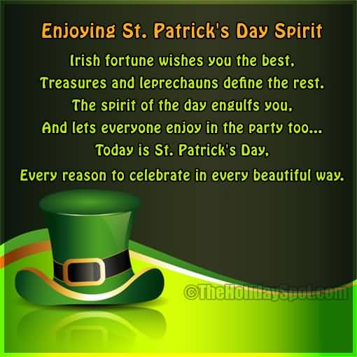 St. Patrick's Day Poems 14