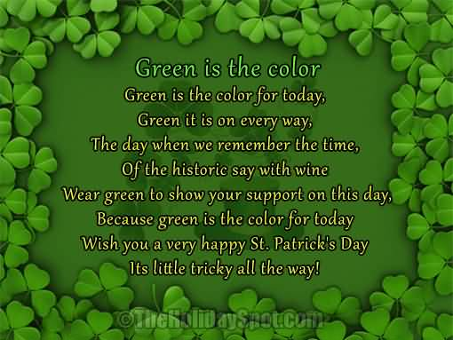 St. Patrick's Day Poems 17