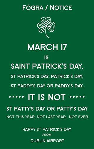 St. Patrick's Day Poems 27